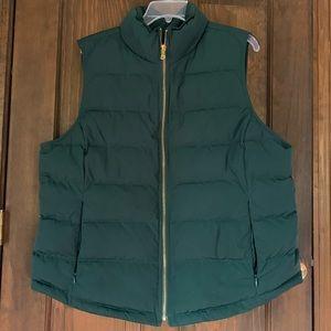 Talbots down puffer vest